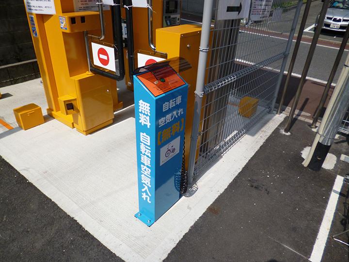 熊本の駐輪場