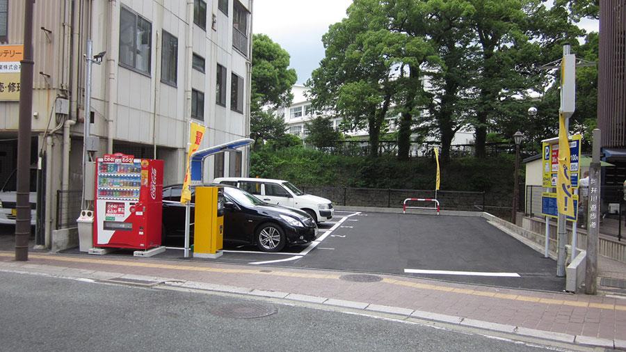 駐車場オープン